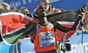 Wilson Kipsang, world record Berlin