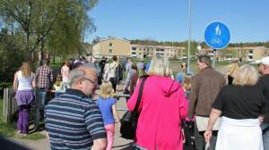 Invigning av Lila Gråborundan Foto: Johan Holst
