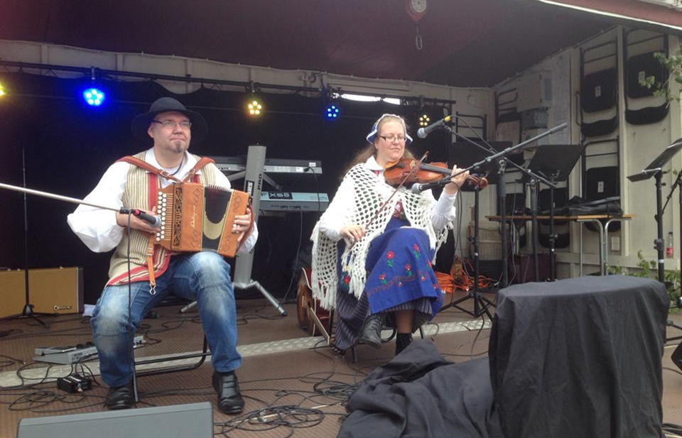 Folkmusik, Nationaldagen 2014