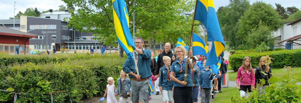 Nationaldagen Gråbo 2014