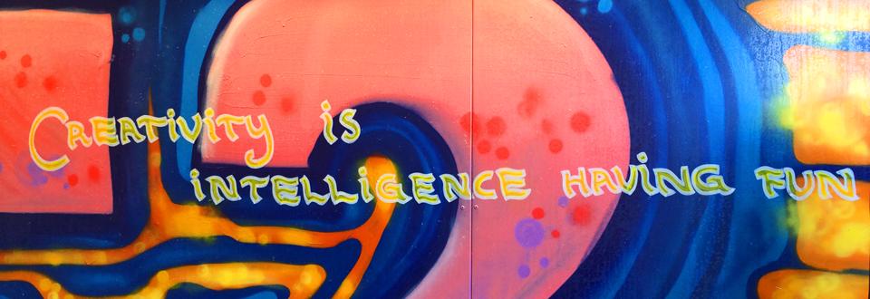 Creativity is intelligence having fun (Foto: Mikael Tilly)