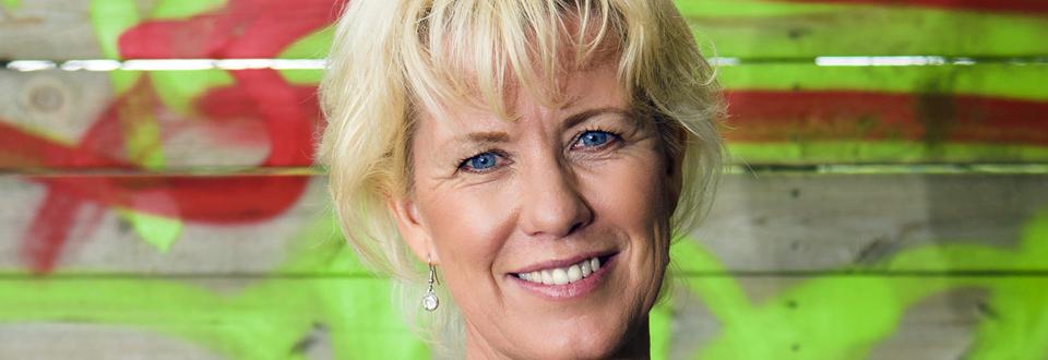 Eva Andersson vill gärna vara en hjälpande hand