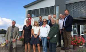 Invigning av Solföljare på Husexpo Gråbo