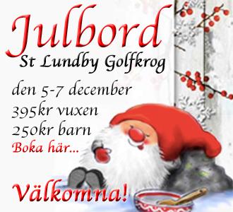 Julbord på Stora Lundby Golfkrog 2014