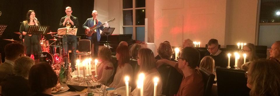 Picnickonsert med Elims Jazzorkester (Foto: Elisabet Tilly)