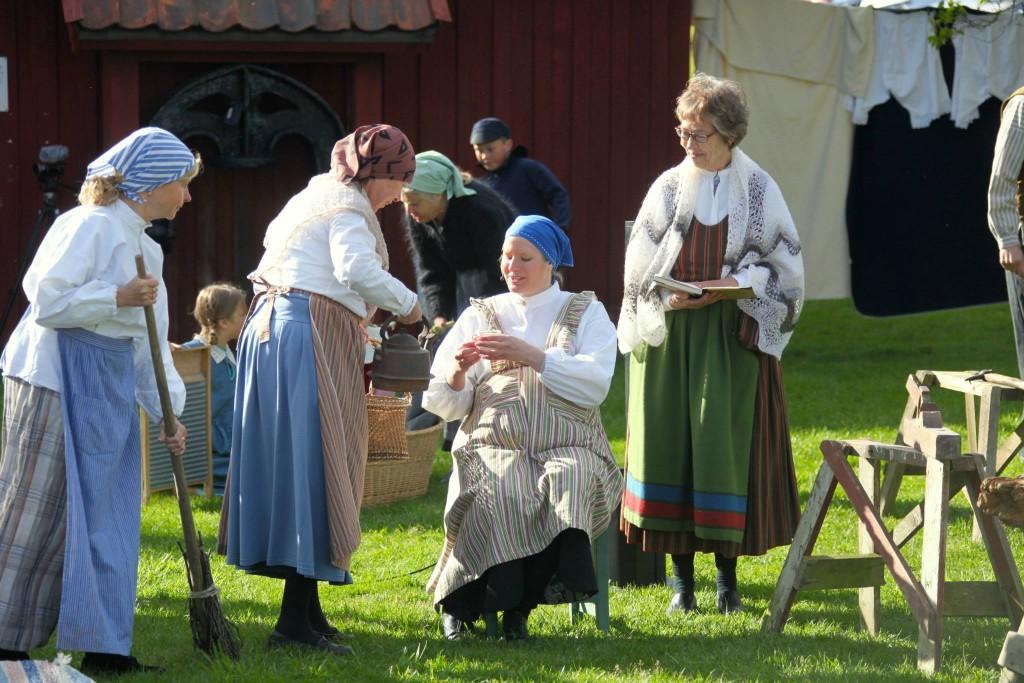 Bygdespelet Alberts Barndom 2015, foto: Johan Holst