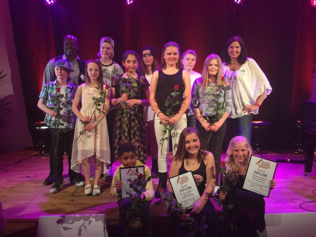 Vinnare i Gråbo Talangen 2015