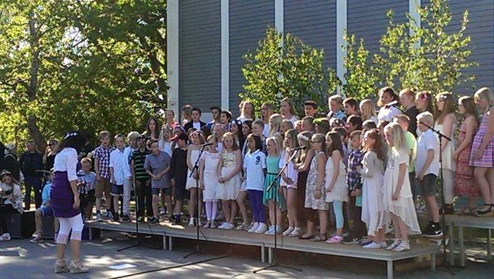 Sommaravslutning Lekstorpsskolan 2015