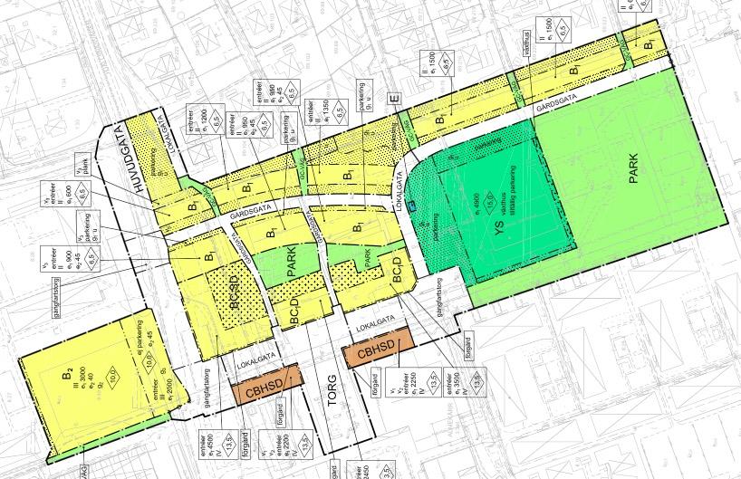 Plan Gråbo centrum, etapp 1