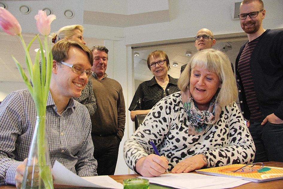 Tilly skall utveckla Gråbo (Foto: Carina Svensson)