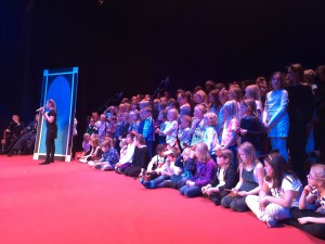 Lekstorpsskolans julshow 2015 (Foto: Åsa Magnesköld)