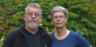 Gråbogeologerna Sven Åke Larson och Eva-Lena Tullborg