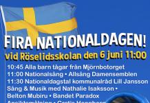Nationaldagsfirande Gråbo 2016